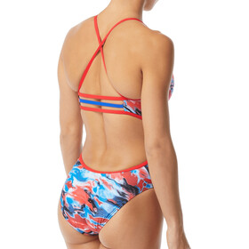 TYR Synthesis Trinityfit Swimsuit Women, red/white/blue